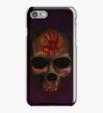 Dark Brotherhood Skull iPhone Case/Skin