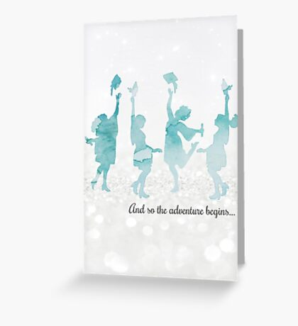 """A New Beginning"" Greeting Card Greeting Card"