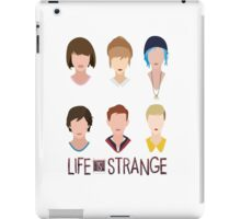 life is strange all character iPad Case/Skin