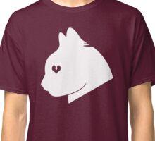 Cat Love (White) Classic T-Shirt
