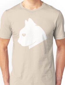 Cat Love (White) Unisex T-Shirt