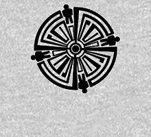 Haven Troubled Guard Tattoo Black Logo Unisex T-Shirt