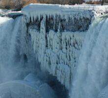 Icy Niagara Falls Sticker