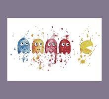 PacMan Watercolor Kids Tee