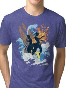 the two avatars variant Tri-blend T-Shirt
