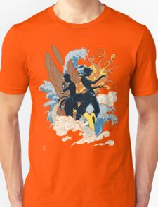 the two avatars variant Unisex T-Shirt