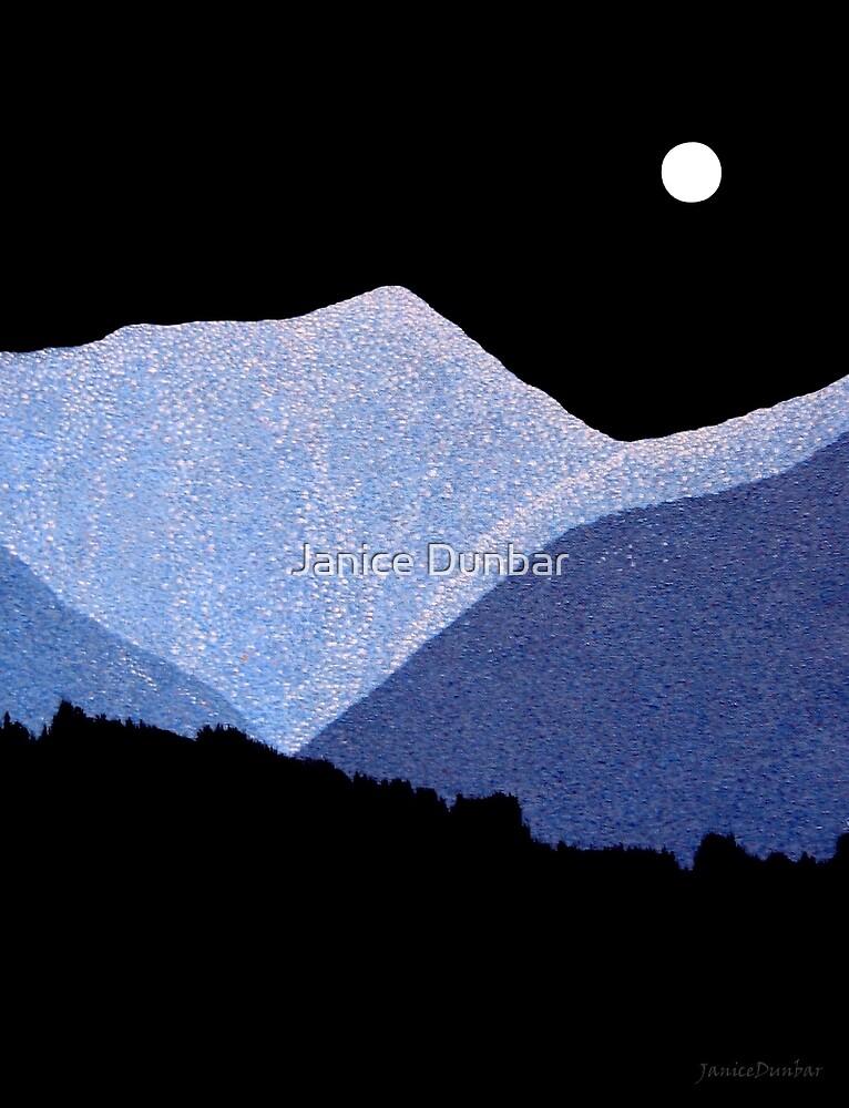 Kootenay Mountains by Janice Dunbar