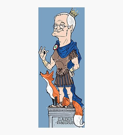LEICESTER CITY AND RANIERI Photographic Print