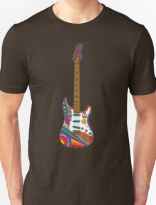Psychedelic Guitar Unisex T-Shirt