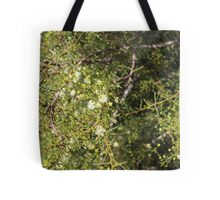Yellow blossoms Tote Bag