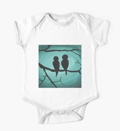 Two birds One Piece - Short Sleeve
