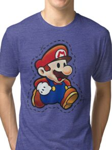 It's Paper Mario! Tri-blend T-Shirt