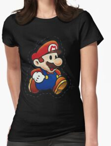 It's Paper Mario! Womens Fitted T-Shirt