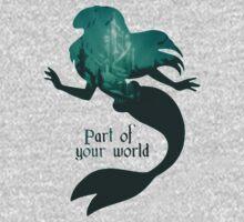 Mermaid World One Piece - Short Sleeve