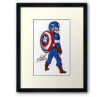 American Hero Framed Print