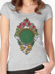 Hobbit Hole Women's Fitted Scoop T-Shirt