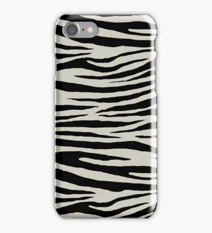 0510 Pastel Gray Tiger iPhone Case/Skin