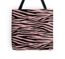 0514 Pastel Pink Tiger Tote Bag