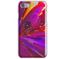 Town in  color and explosion iPhone Case/Skin