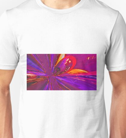 Town in  color and explosion Unisex T-Shirt