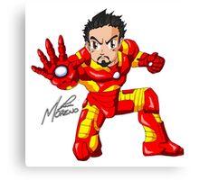 Hero of Iron Canvas Print