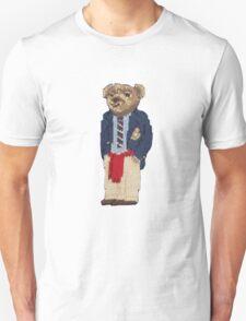 Polo Bear: Knit in Blazer w/ Red Sweater Unisex T-Shirt