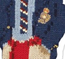 Polo Bear: Knit in Blazer w/ Red Sweater Sticker