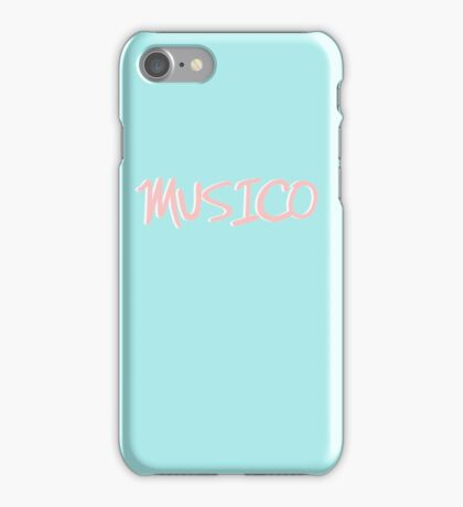 Retro 90s MUSICO  iPhone Case/Skin
