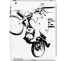 Dirt Bike Wheelie iPad Case/Skin