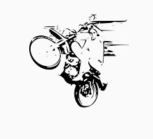 Dirt Bike Wheelie Men's Baseball ¾ T-Shirt