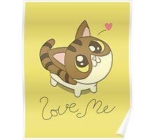 Love Me Cat Poster