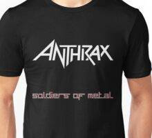 ANTHRAX SOLDIER OF METAL Unisex T-Shirt