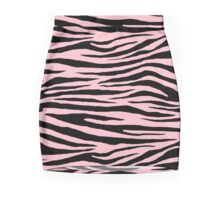 0541 Pink Tiger Mini Skirt