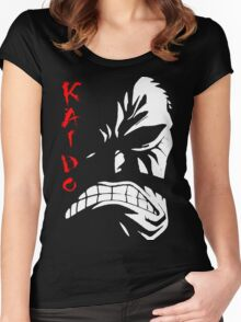One Piece - Kaido Women's Fitted Scoop T-Shirt