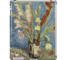 Vincent Van Gogh - Vase With Gladioli And Chinese Asters  iPad Case/Skin