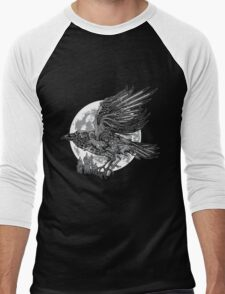 send a raven Men's Baseball ¾ T-Shirt
