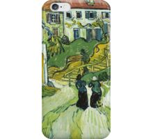 Vincent Van Gogh - Stairway At Auvers  iPhone Case/Skin