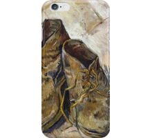 Vincent Van Gogh - Shoes - Van Gogh - Shoes  iPhone Case/Skin