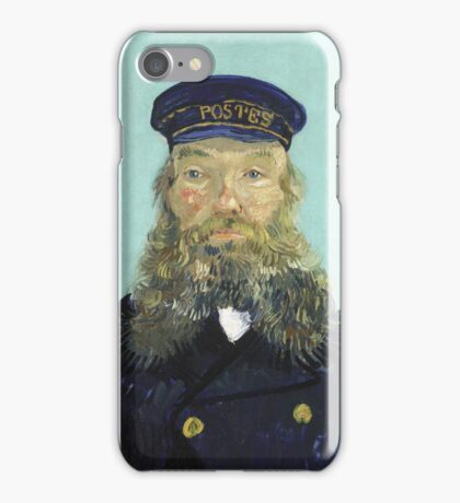 Vincent Van Gogh - Portrait Of Postman Roulin -Portrait -Van Gogh iPhone Case/Skin