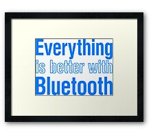 Bluetooth Framed Print