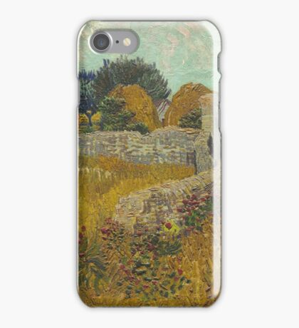 Vincent Van Gogh - Farmhouse In Provence. Van Gogh -French  Landscape  iPhone Case/Skin