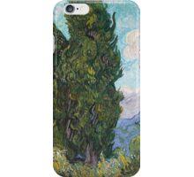 Vincent Van Gogh - Cypresses  iPhone Case/Skin