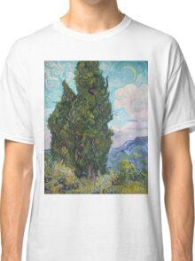 Vincent Van Gogh - Cypresses .  Van Gogh - Cypresses  Classic T-Shirt