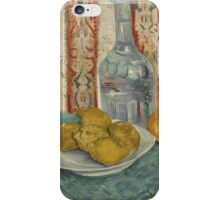 Vincent Van Gogh - Carafe And Dish With Citrus Fruit  iPhone Case/Skin