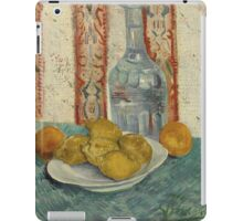 Vincent Van Gogh - Carafe And Dish With Citrus Fruit .  Van Gogh - Still Life  iPad Case/Skin
