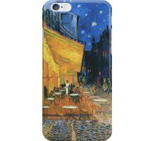 Vincent Van Gogh - Cafe Terrace Place Du Forum Arles Detail  iPhone Case/Skin