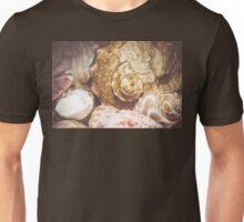 Seashell Background Macro 2 Unisex T-Shirt