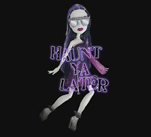 Haunt ya Later Womens Fitted T-Shirt
