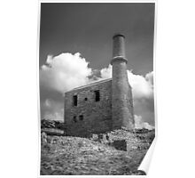 Cornish Engine House at the Prince of Wales Quarry Poster