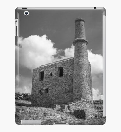 Cornish Engine House at the Prince of Wales Quarry iPad Case/Skin